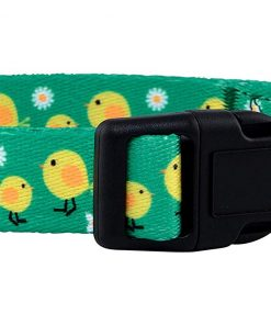 Native Pup Easter Dog Collar (Chicks, Small) 2