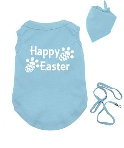 PandoraTees Dog Easter Shirt - Happy Easter
