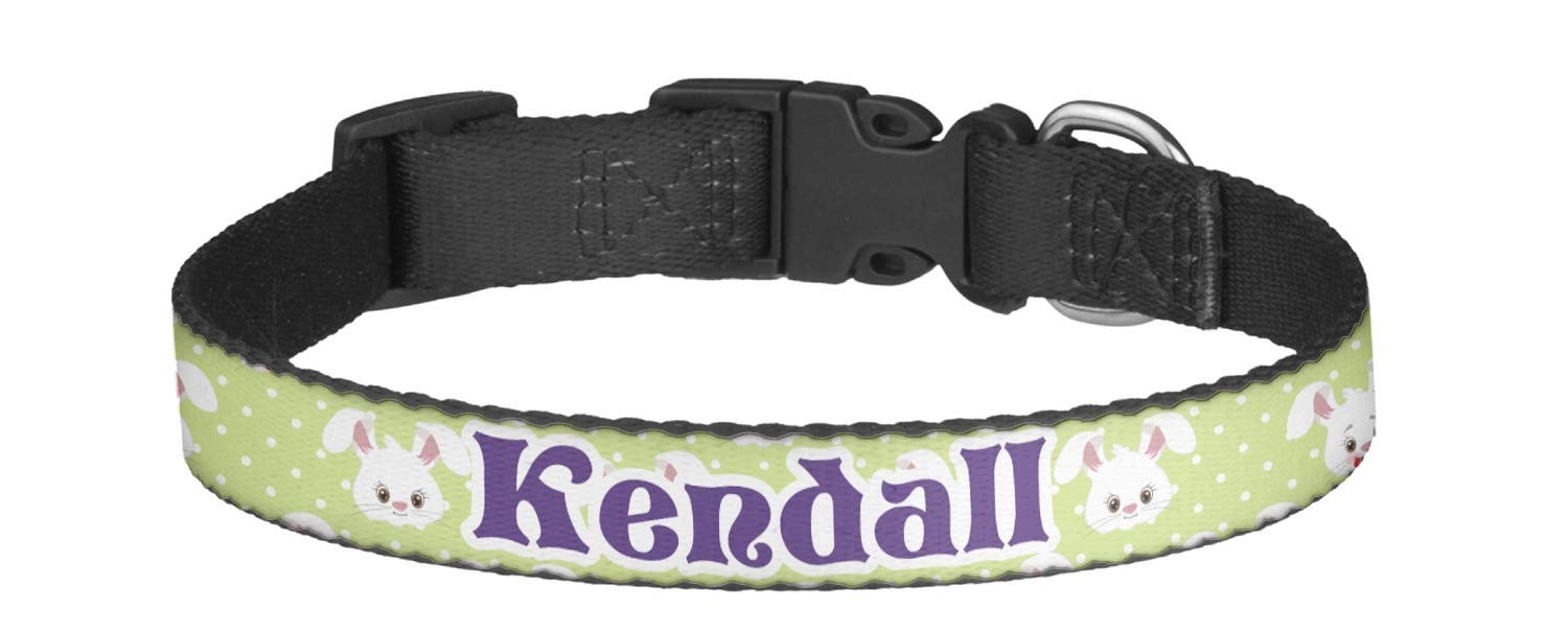 83d3ef93 RNK Shops Easter Bunny Dog Collar – Multiple Sizes (Personalized)