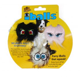 Silly Squeaker iBall Dog Toy - 3 Pack