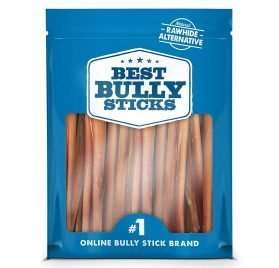 Best Bully Sticks Odor-Free Angus Bully Sticks - Made of All-Natural, Free-Range, Grass-Fed Angus Beef - Hand-Inspected and USDA FDA-Approved