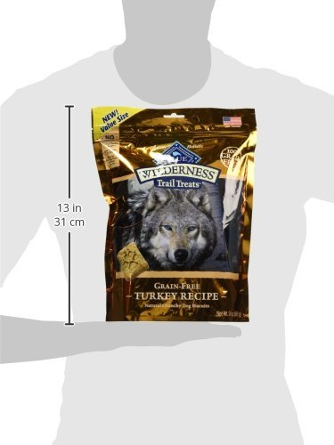 Blue Buffalo Wilderness Trail Treats Grain Free Biscuits Crunchy Dog Treats 10