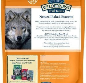 Blue Buffalo Wilderness Trail Treats Grain Free Biscuits Crunchy Dog Treats 2