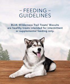 Blue Buffalo Wilderness Trail Treats Grain Free Biscuits Crunchy Dog Treats 3