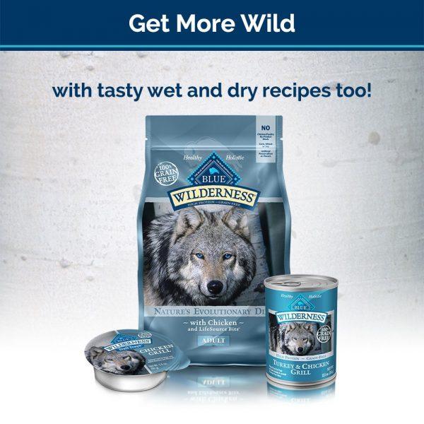 Blue Buffalo Wilderness Trail Treats Grain Free Biscuits Crunchy Dog Treats 7