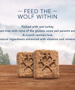 Blue Buffalo Wilderness Trail Treats Grain Free Biscuits Crunchy Dog Treats 8