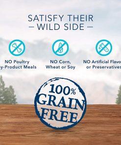 Blue Buffalo Wilderness Trail Treats Grain Free Biscuits Crunchy Dog Treats 9