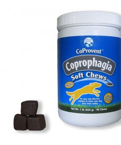 Coprovent Coprophagia- Prevents Your Dog From Eating Stool- 1 Pound Of Highly Concentrated Soft Chews- Great Value