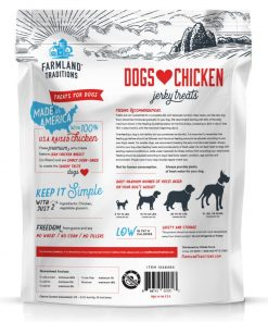Farmland Traditions Usa Made Chicken Jerky Dog Treats, 3 Lb. 2