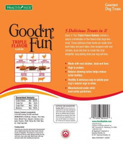 Good 'N' Fun Triple Flavored Rawhide Kabobs For Dogs, 12 Oz 2