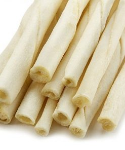 Green Valley Treats American Rawhide Sticks for Small Dogs, 5 inch All Natural Twists Made in USA Only 2