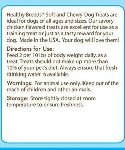 Healthy Soft Chewy Dog Treats for Chihuahua - Over 80 Breeds - Tasty Flavored Snack - Small Medium or Large Pets - Training Reward - 7oz 2