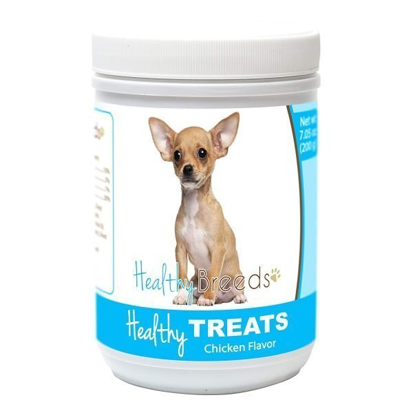 Healthy Soft Chewy Dog Treats for Chihuahua - Over 80 Breeds - Tasty Flavored Snack - Small Medium or Large Pets - Training Reward - 7oz