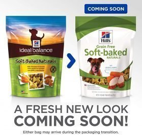 Hill's Ideal Balance Grain Free Dog Treats, Soft-Baked Naturals Dog Snacks 2