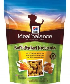 Hill's Ideal Balance Grain Free Dog Treats, Soft-Baked Naturals Dog Snacks