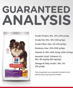 Hill's Science Diet Dry Dog Food, Adult, Small & Mini, Sensitive Stomach & Skin, Chicken Recipe, 4 LB Bag 7