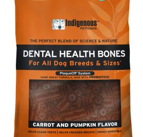 Indigenous Dental Health Bones Carrot Pumpkin Flavor