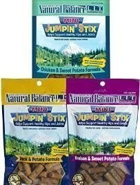 Natural Balance Lit Mini Jumpin Stix Variety Bundle