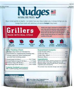 Nudges Steak Grillers Dog Treats, 36 oz 2