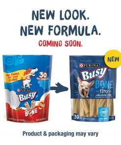 Purina Busy Made in USA Facilities Toy Breed Dog Bones; Extra Small - 30 ct. Pouch 2