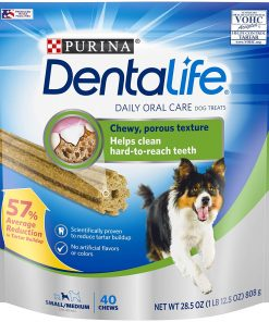 Purina DentaLife Small Medium Adult Dog Treats