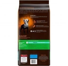 Purina Pro Plan With Probiotics Small Breed Dry Dog Food; SAVOR Shredded Blend Chicken & Rice Formula - 6 lb. Bag 2