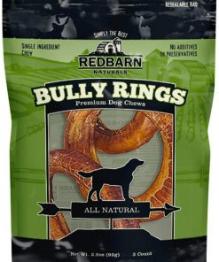 REDBARN NATURALS 3pk - Red Barn Bully Rings