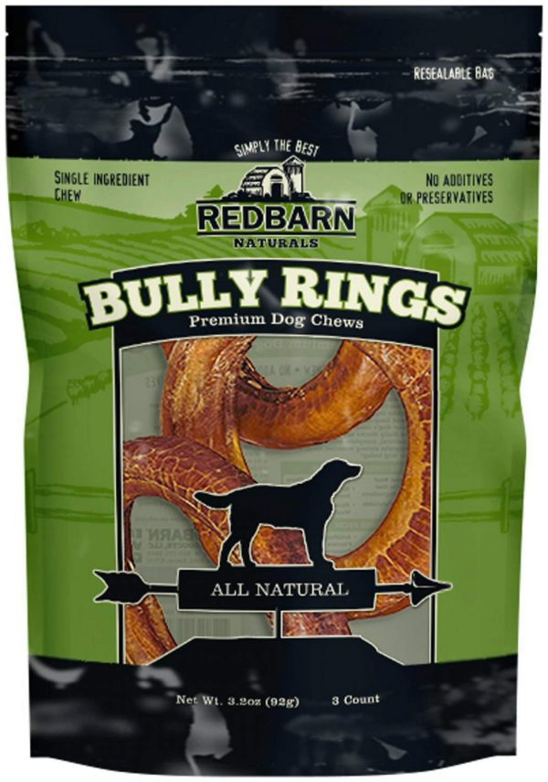 REDBARN NATURALS 3pk - Red Barn Bully Rings