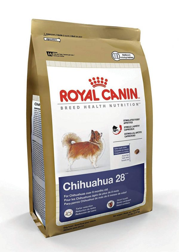 Royal Canin Dry Dog Food, Mini Chihuahua 28 Formula, 2.5-Pound Bag
