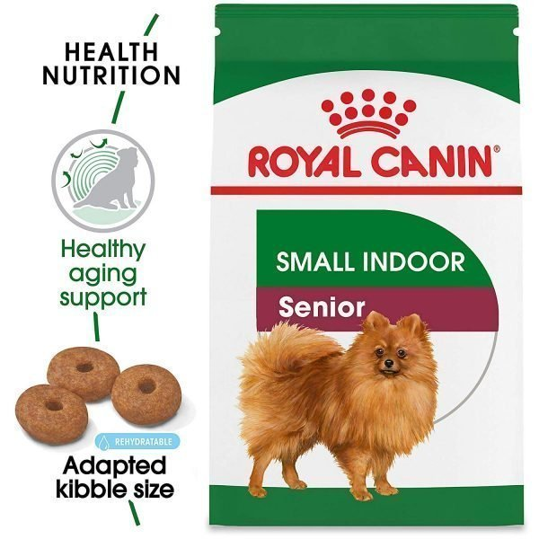 Royal Canin Size Health Nutrition Small Indoor Senior Dry Dog Food, 2.5-Pound