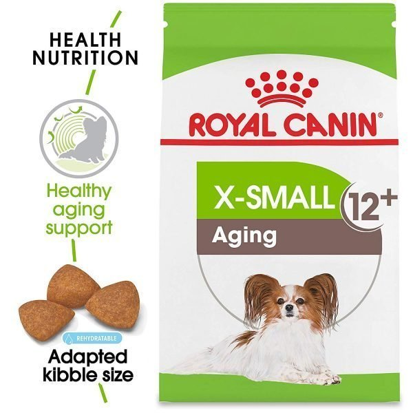 Royal Canin Size Health Nutrition X-Small Aging 12+ Dry Dog Food, 2.5-Pound