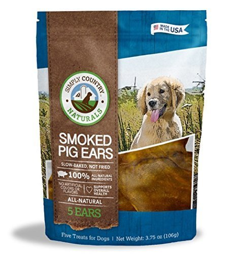 TevraPet Simply Country Naturals Pig Ears for Dogs