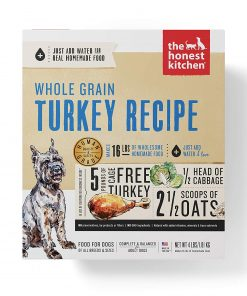 Honest Kitchen Human Grade Dehydrated Organic Grain Turkey Dog Food 4 lb - Keen