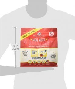 Stella & Chewy's Freeze-Dried Raw Cage-Free Chicken Meal Mixer Lil' SuperBlends Grain-Free Dog Food Topper, 8 oz. bag 7