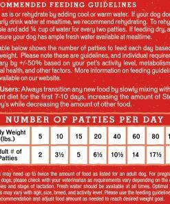 Stella & Chewy's Freeze-Dried Raw Dandy Lamb Dinner Patties Grain-Free Dog Food, 14 oz bag 6
