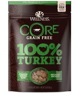 Wellness Core 100-Percent Freeze Dried Dog Treats, 2 Oz