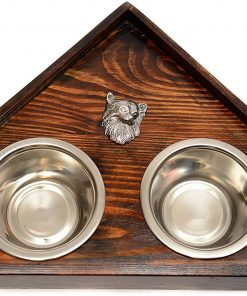 Chihuahua, a Dog's Bowl with a Relief from ArtDog
