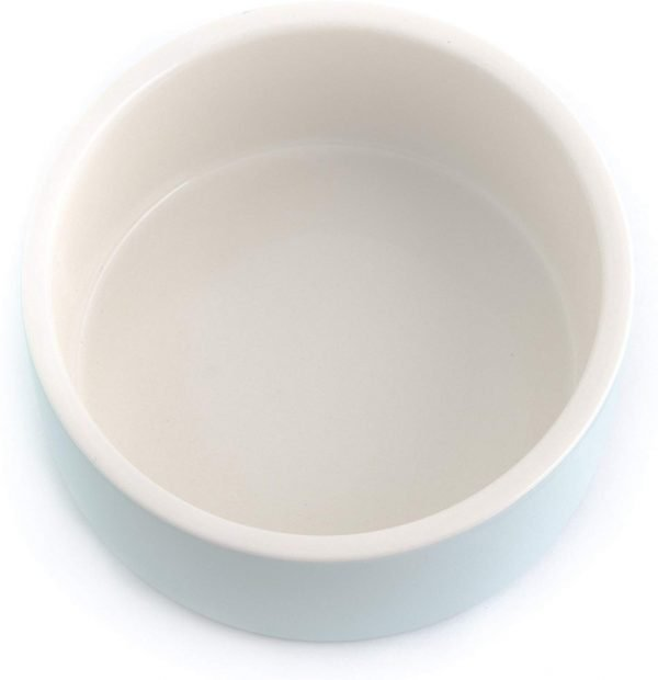 Magisso Happy Pet Project Naturally Cooling Ceramics Water Bowl (Blue, 6 Inch) 3
