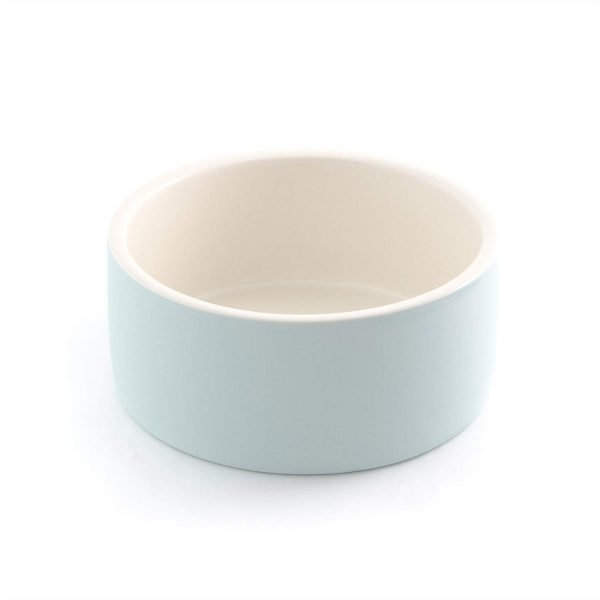 Magisso Happy Pet Project Naturally Cooling Ceramics Water Bowl (Blue, 6 Inch) 4