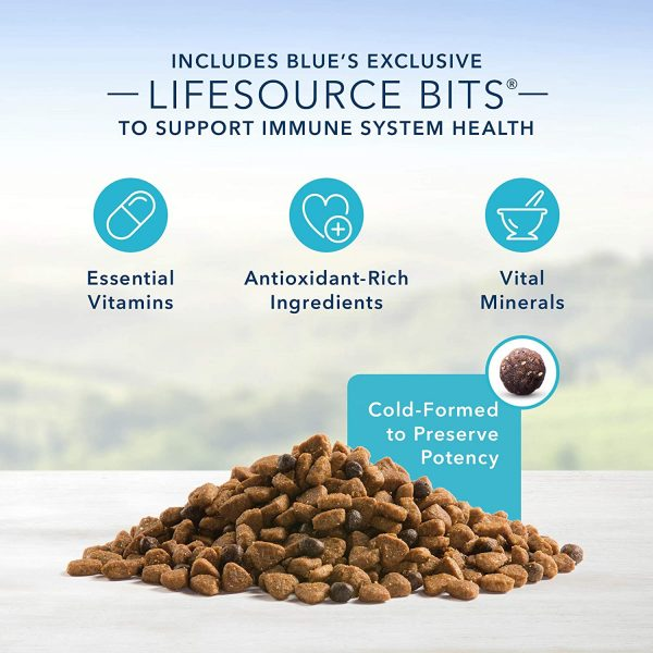 Blue Buffalo Life Protection Formula Small Breed Dog Food – Natural Dry Dog Food for Adult Dogs – Chicken and Brown Rice – 6 lb. Bag 4