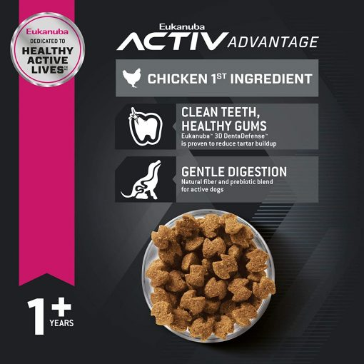Eukanuba Adult Dry Dog Food Chicken - Small Breed 2