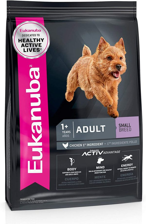 Eukanuba Adult Dry Dog Food Chicken - Small Breed