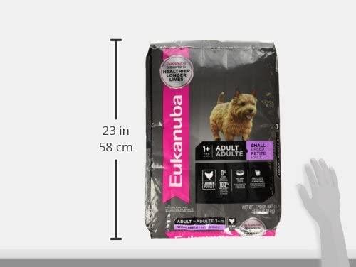 Eukanuba Adult Dry Dog Food Chicken - Small Breed 9