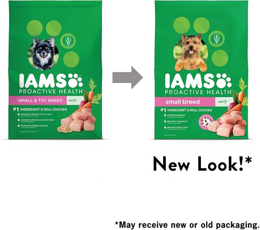 Iams Proactive Health Small Breed Adult Dry Dog Food, Chicken 9