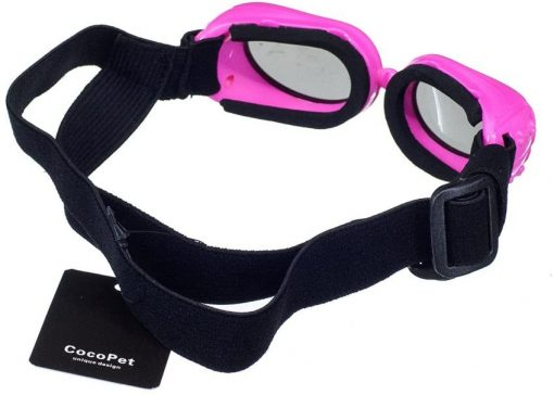 COCOPET [New Version Adorable Dog Goggles Pet Sunglasses Eye Wear UV Protection Waterproof Sunglasses for Puppy Dogs Small Medium XS 3