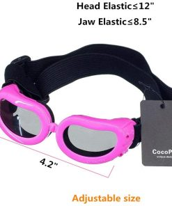 COCOPET [New Version Adorable Dog Goggles Pet Sunglasses Eye Wear UV Protection Waterproof Sunglasses for Puppy Dogs Small Medium XS 4