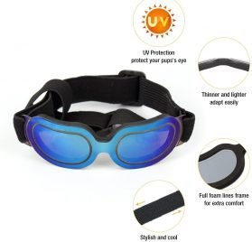 Namsan Stylish and Fun Pet Dog Puppy UV Goggles Sunglasses Waterproof Protection Sun Glasses for Dog 2