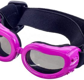 OxyPlay Adorable Cute Dog Goggles Extra Small Pink Anti-Ultraviolet Sunglasses for Chihuahua Small Breeds Pet 2