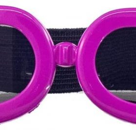 OxyPlay Adorable Cute Dog Goggles Extra Small Pink Anti-Ultraviolet Sunglasses for Chihuahua Small Breeds Pet
