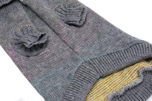 BINGPET Dog Argyle Sweater Cute Winter Pets Clothes 3